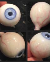 Silicone eyeball