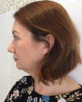 Daytime make-up on mature skin