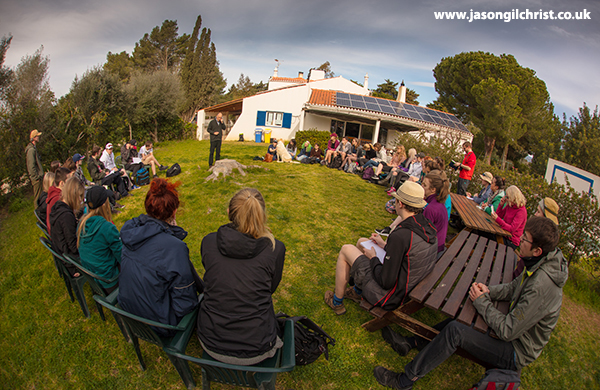 A Rocha field study centre, Cruzinha, Algarve