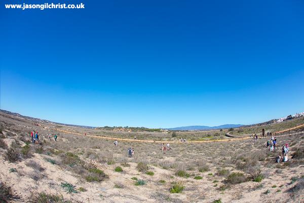 Big sky on the Ria de Alvor dunes