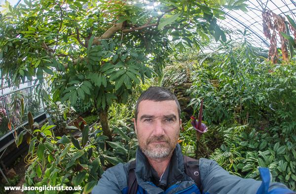 Wee Reekie selfie - Royal Botanic Garden Edinburgh