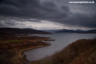 Storm clouds over Loch Sunart