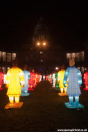 The Edinburgh Terracotta Warrior Lanterns
