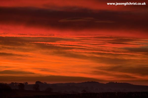 Cumbria winter sunrise