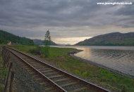 Railway by Loch Carron