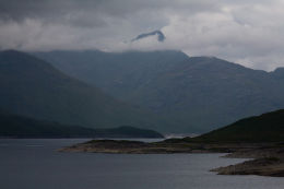 Meall Buidhe on Loch Quoich