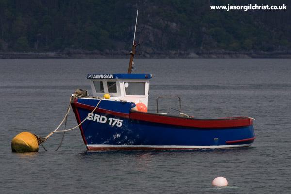 Plockton fishing boat