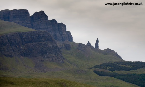 Primeval landscape; Quiraing and The Old Man of Storr