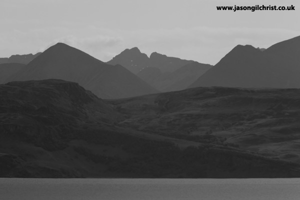 Raasay and the Cuillin Hills