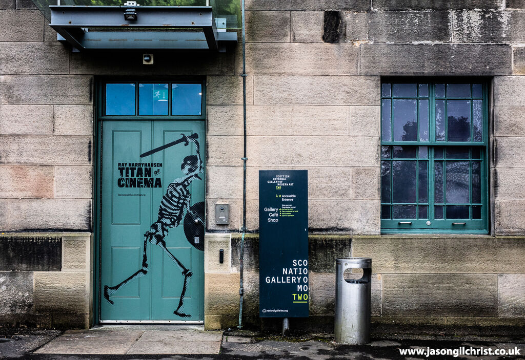 Ray Harryhausen: Titan Of Cinema, the skeleton doorway
