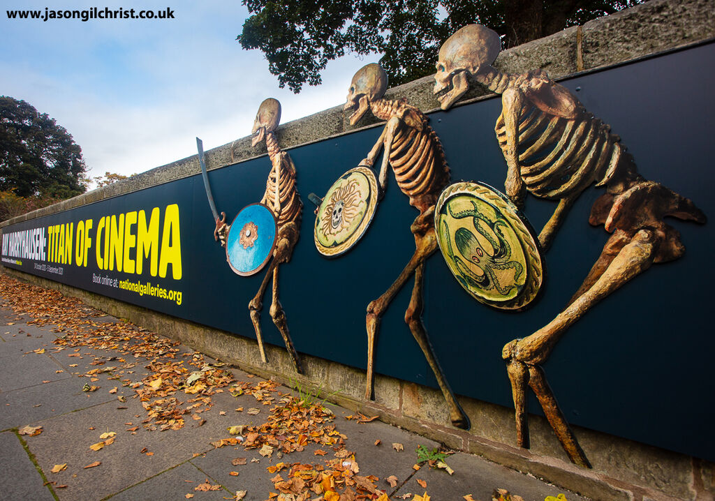 Ray Harryhausen: Titan Of Cinema, the skeletons banner poster (r)