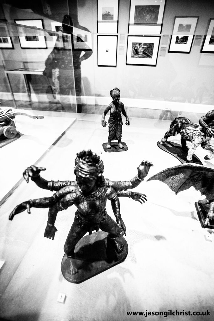 Ray Harryhausen: Titan Of Cinema, Kali model from The Golden Voyage of Sinbad
