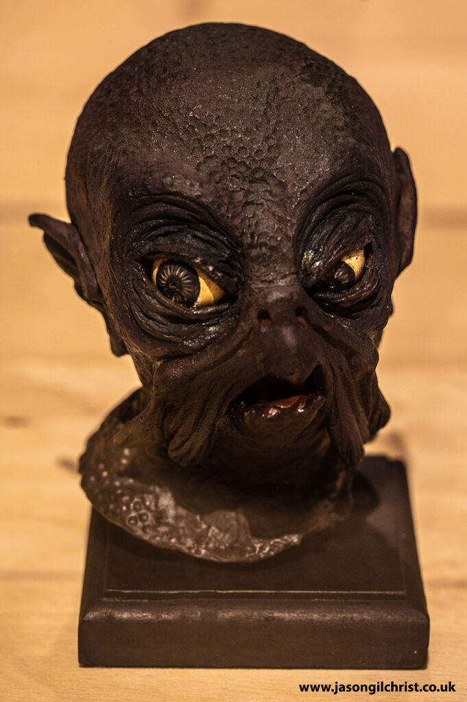 Martian head from unrealised War of the Worlds project - Ray Harryhausen: Titan of Cinema