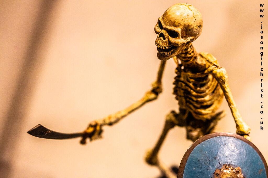 The skeleton from The 7th Voyage of Sinbad - Ray Harryhausen: Titan of Cinema
