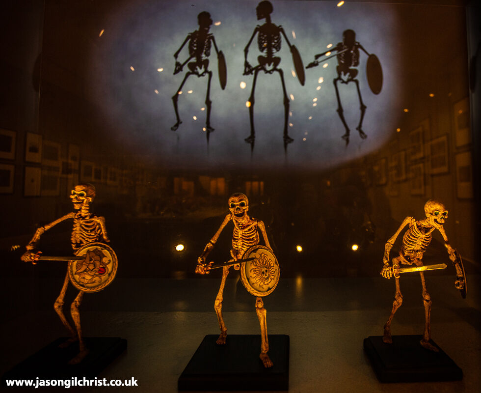 The skeleton army (Children of the Hydra's Teeth) from Jason and the Argonauts - Ray Harryhausen: Titan of Cinema