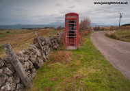 Red telephone box of Kilmory