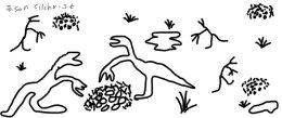 Colonial nesting Therizinosauroid dinosaurs