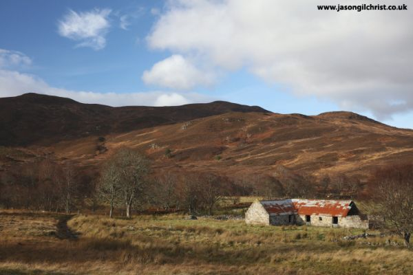 Old barn, Strathcarron