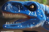 Blue Dinosaur - Dynamic Earth