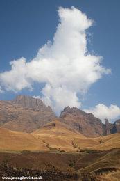 Cloud over Drakensberg