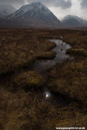 The hills and bog of Rannoch Moor