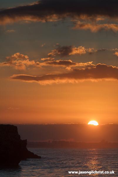 Sunrise over Faro