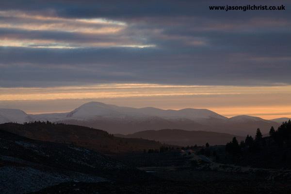 Highland Sunset I