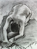 Life drawing charcoal 2 2004