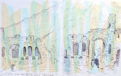 Teatro Greco, Sicily 2009