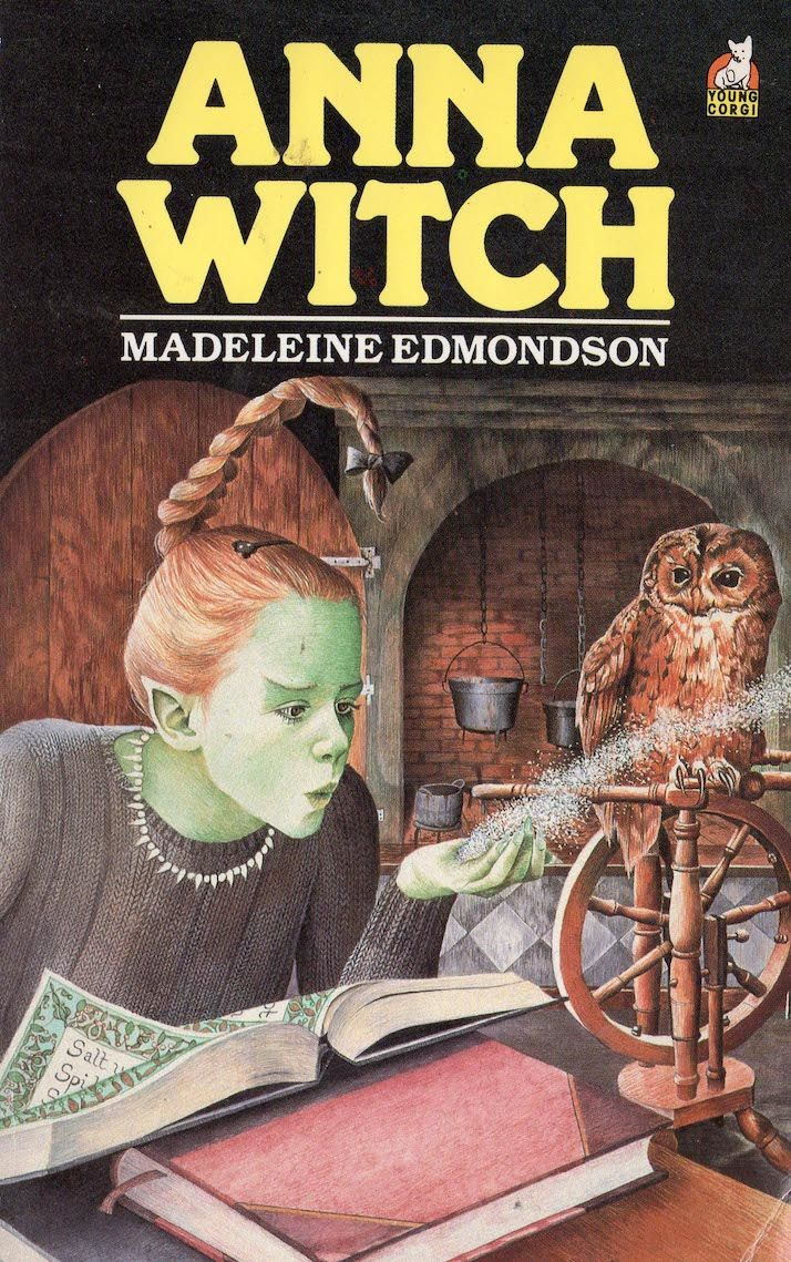 'Anna Witch' book cover illustration