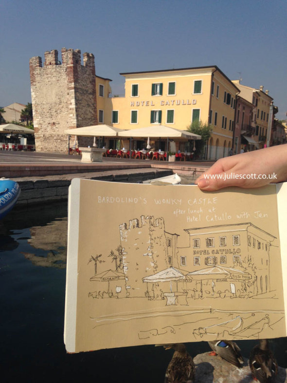 Urban Sketching Italy