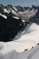 Chamonix climbers