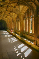 Laycock abbey cloisters