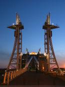 Lowry bridge - night shot