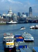 Thames city view