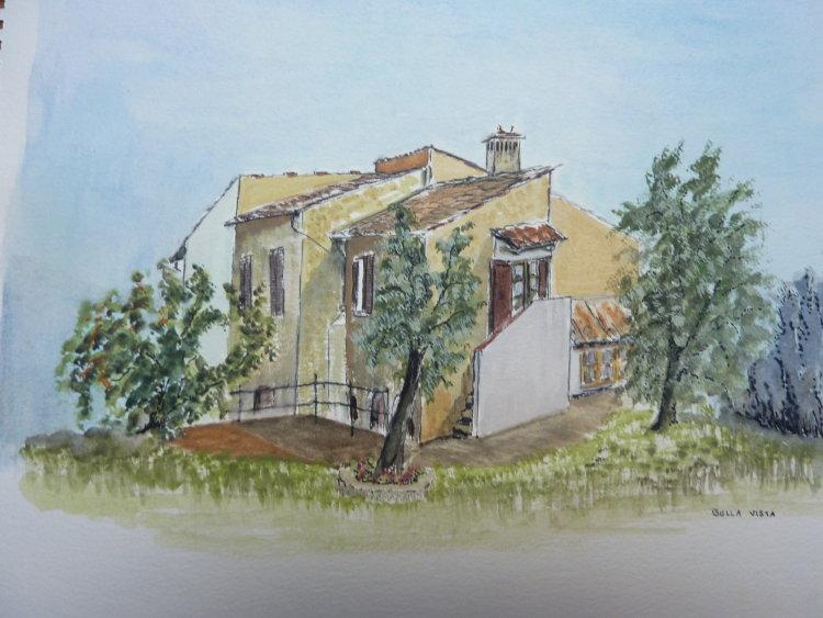 'Bella Vista' Villa in Tuscany