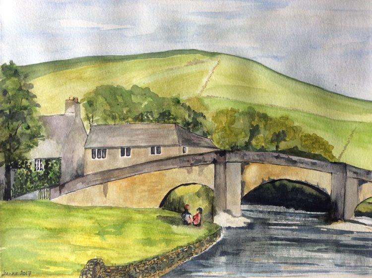 Burnsall Bridge no 1