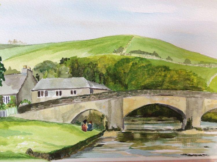Burnsall Bridge no 3