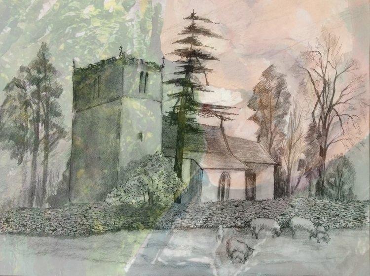 Coverdale church, near Middleham