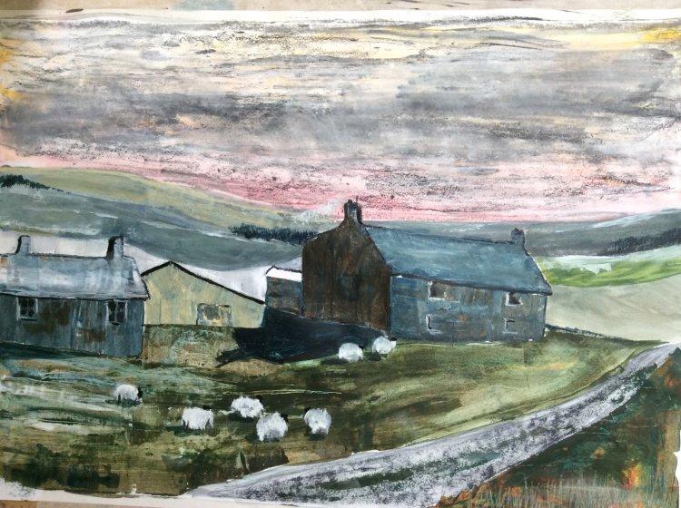 Dales Farmhouse (prints available)