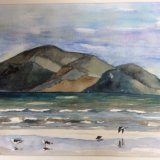 Capiti Coast NZ watercolour