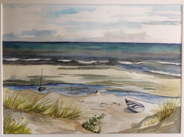 Capiti Coast 2 Watercolour