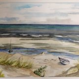 Capiti Coast 2 Watercolour