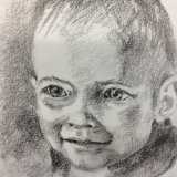 Lottie pencil drawing