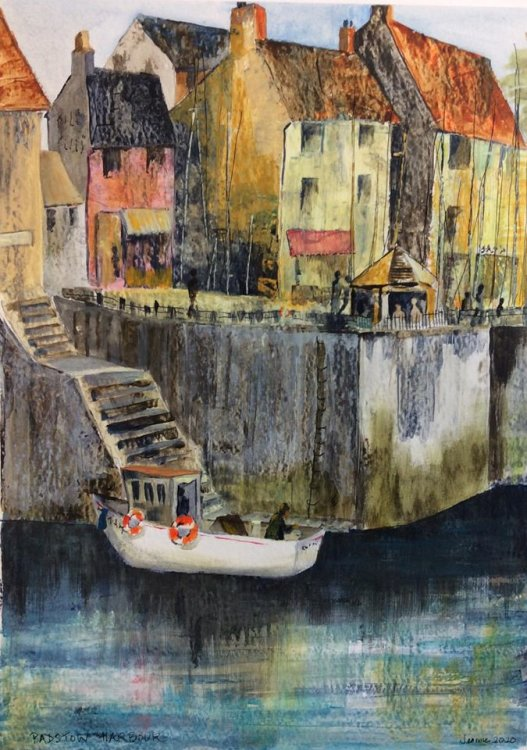 Padstow Harbour  Acrylic