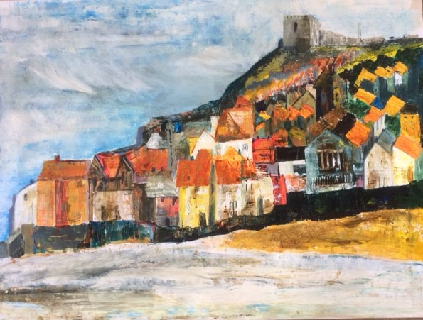 A bit like Whitby Original SOLD (prints available)