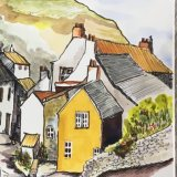 'Steep hill. Staithes'