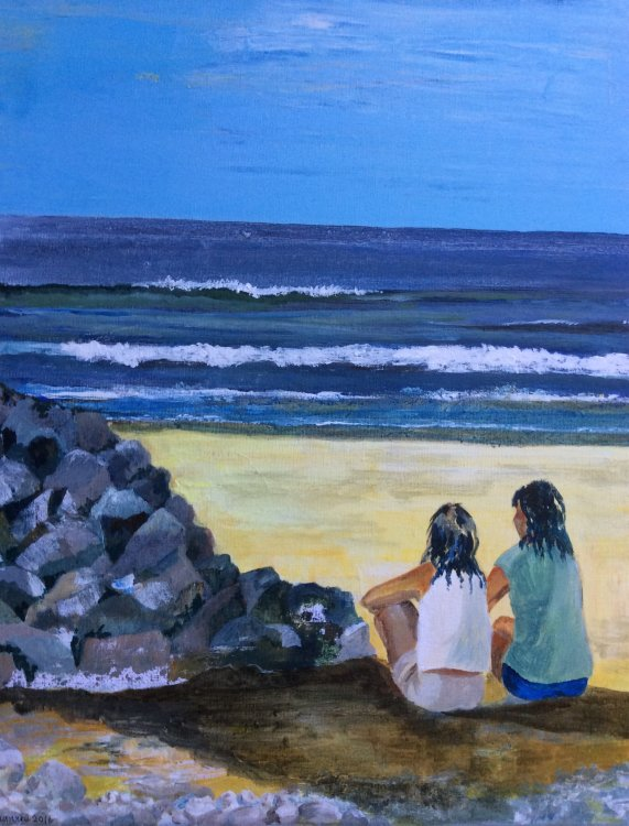 'The Lookouts'  Acrylic