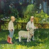 'Young handlers' Acrylic