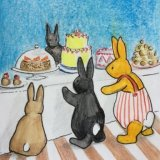 some rabbits find carrot cake utterly irresistable....